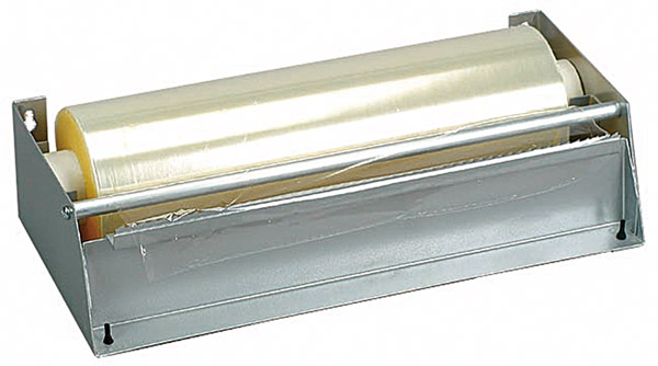 Folien-Abreißvorrichtung, Metall, für Folienbreite 30 cm, L: 34 x B: 16 x H: 9 cm