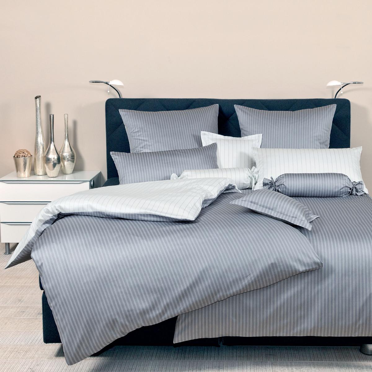 mako seidensatin modern classic 3936 janine kissenbezug bettw sche gastro inn. Black Bedroom Furniture Sets. Home Design Ideas