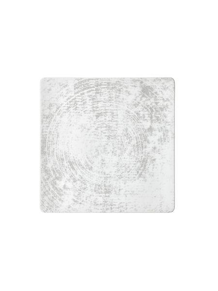 Schönwald, Shabby Chic 1: Dekor 63070 - Teller flach coup eckig 24 cm