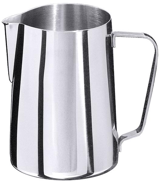 Milch-, Wasserkanne, EdSt. 18/10, hochglänzend, Inhalt: 1,5 ltr., Höhe: 16 cm