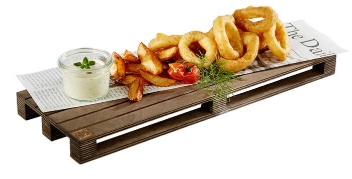 Fancy Fast Food optimale präsentieren