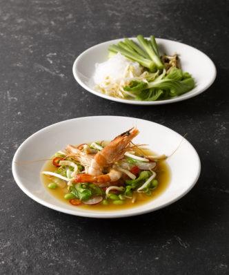 Thai Food präsentieren
