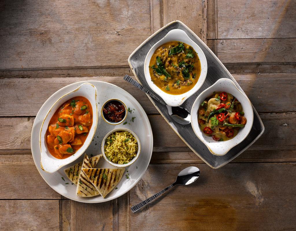 Geschirr für die indische Küche stilvoll präsentieren